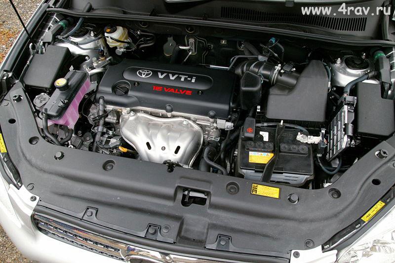 toyota rav4 третьего поколения двигатель