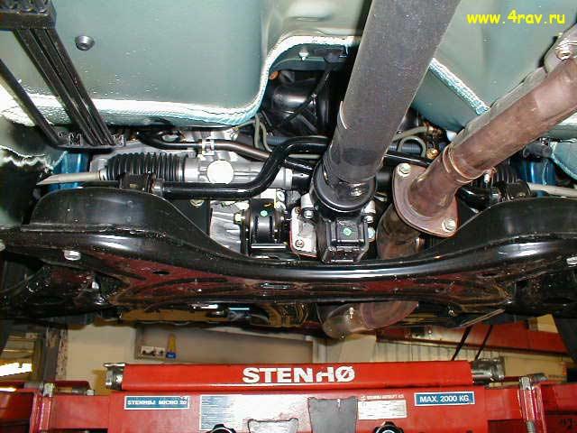 схема подвеска toyota rav4 2005 года